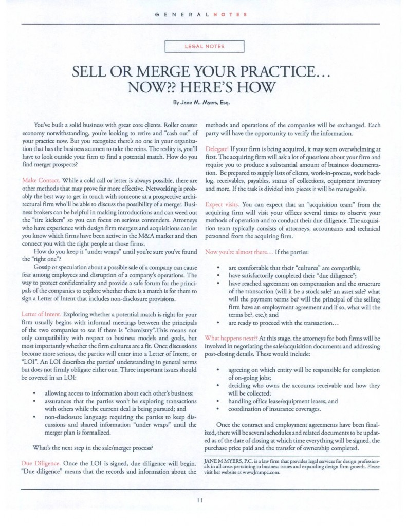 AIA Westchester Mid-Hudson Chapter General Notes newsletter - Mar-Apr 2009 edition - page 11